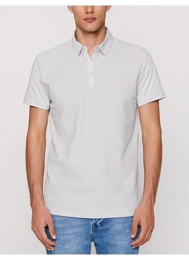 Koton Polo Yaka Tişört Gri